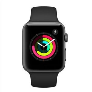 Apple Watch Series 3 42mm. Black sport band